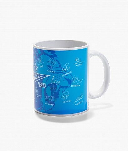 """Autographs"" coffee mug"
