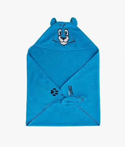 Полотенце детское махровое с капюшоном