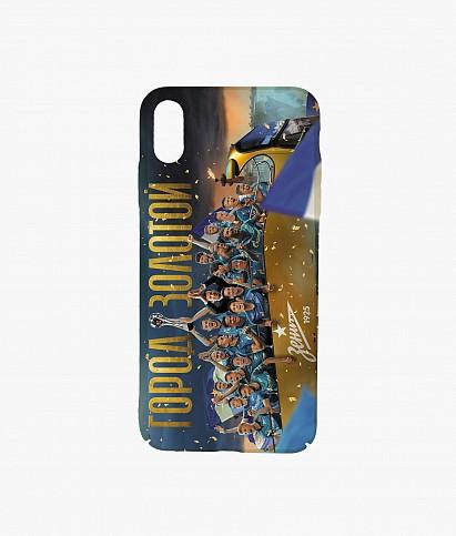 Чехол для IPhone X/XS «Чемпионский автобус» 2020/21