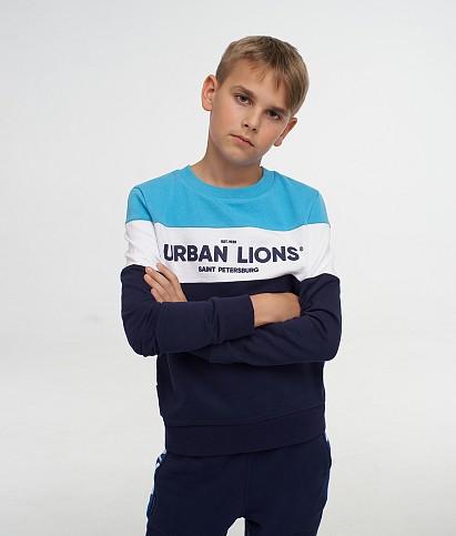 Children's hoodie «Urban Lions»