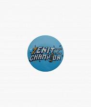 Значок закатной «Zenit. Чемпион Р...