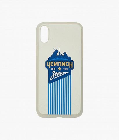 """Чехол для iPhone XS """"Город. Чемпион России"""""""