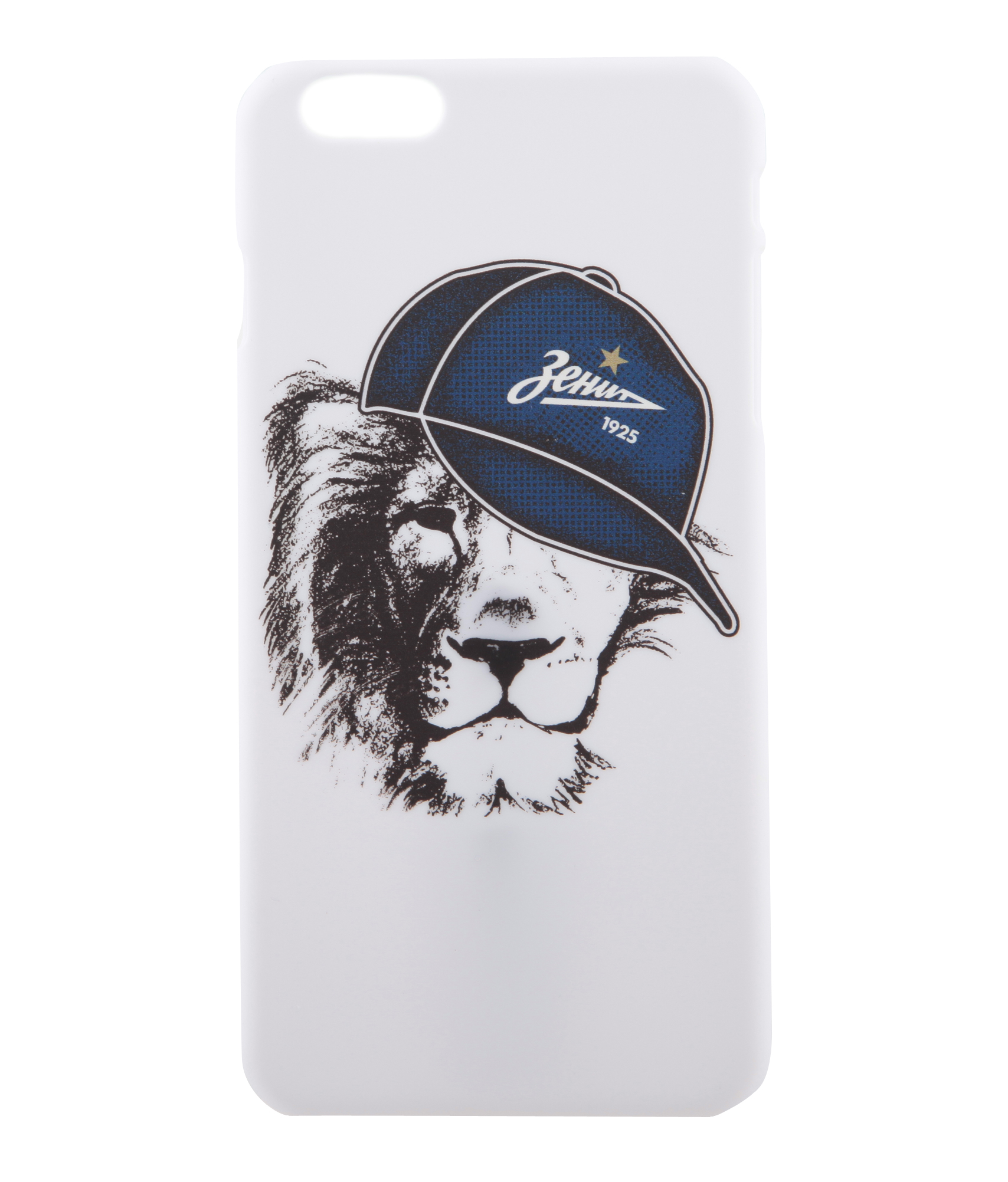 Фото - Чехол для IPhone 6/6S Plus «Кепка» Зенит чехол накладка для apple iphone 6 6s deppa gel plus case 85213 pink клип кейс полиуретан