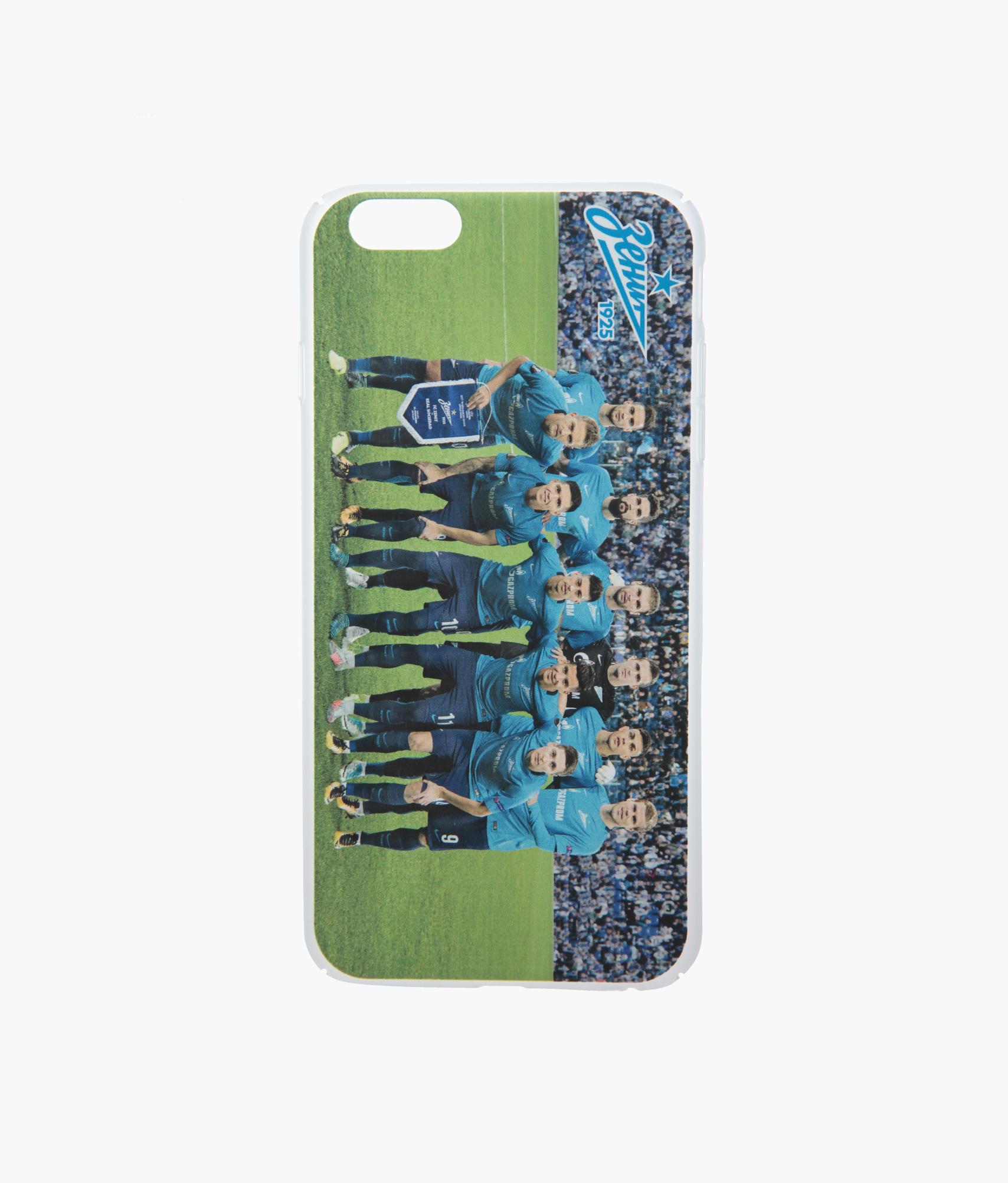 Фото - Чехол для IPhone 6/6S Plus «Команда 2017» Зенит чехол накладка для apple iphone 6 6s deppa gel plus case 85213 pink клип кейс полиуретан