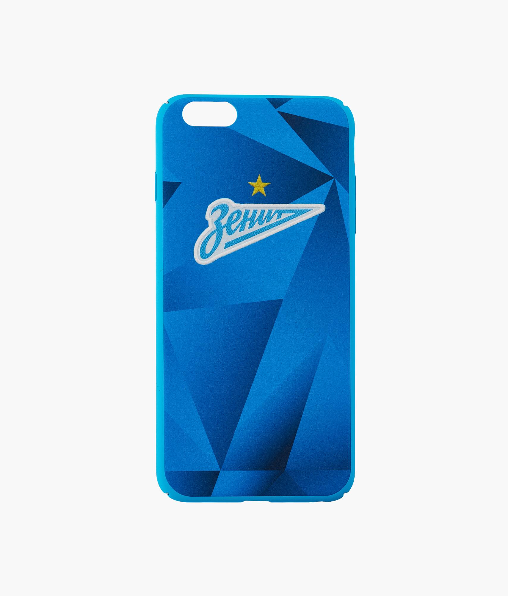 Фото - Чехол для IPhone 6/6S Plus «Форма 2019/20» Зенит Цвет-Синий чехол накладка для apple iphone 6 6s deppa gel plus case 85213 pink клип кейс полиуретан