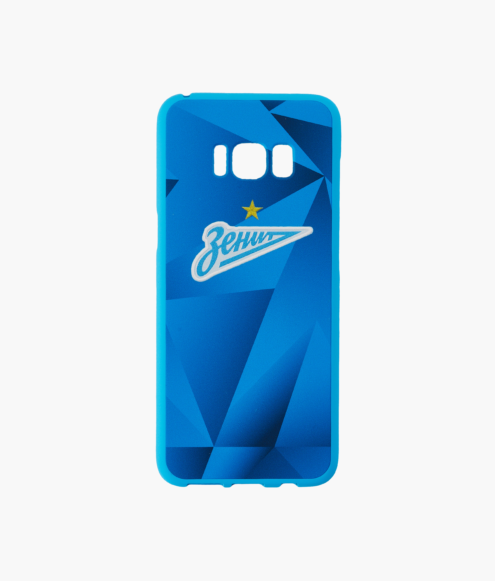 Фото - Чехол для Samsung Galaxy S8 «Форма 2019/20» Зенит Цвет-Синий аксессуар чехол neypo для samsung galaxy a10 2019 soft matte silicone dark blue nst11681