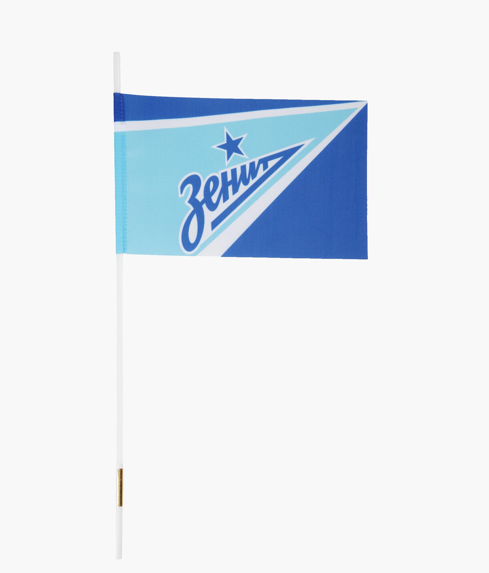 Флажок 19х12см «Зенит» Зенит флаг 150х225 классика зенит