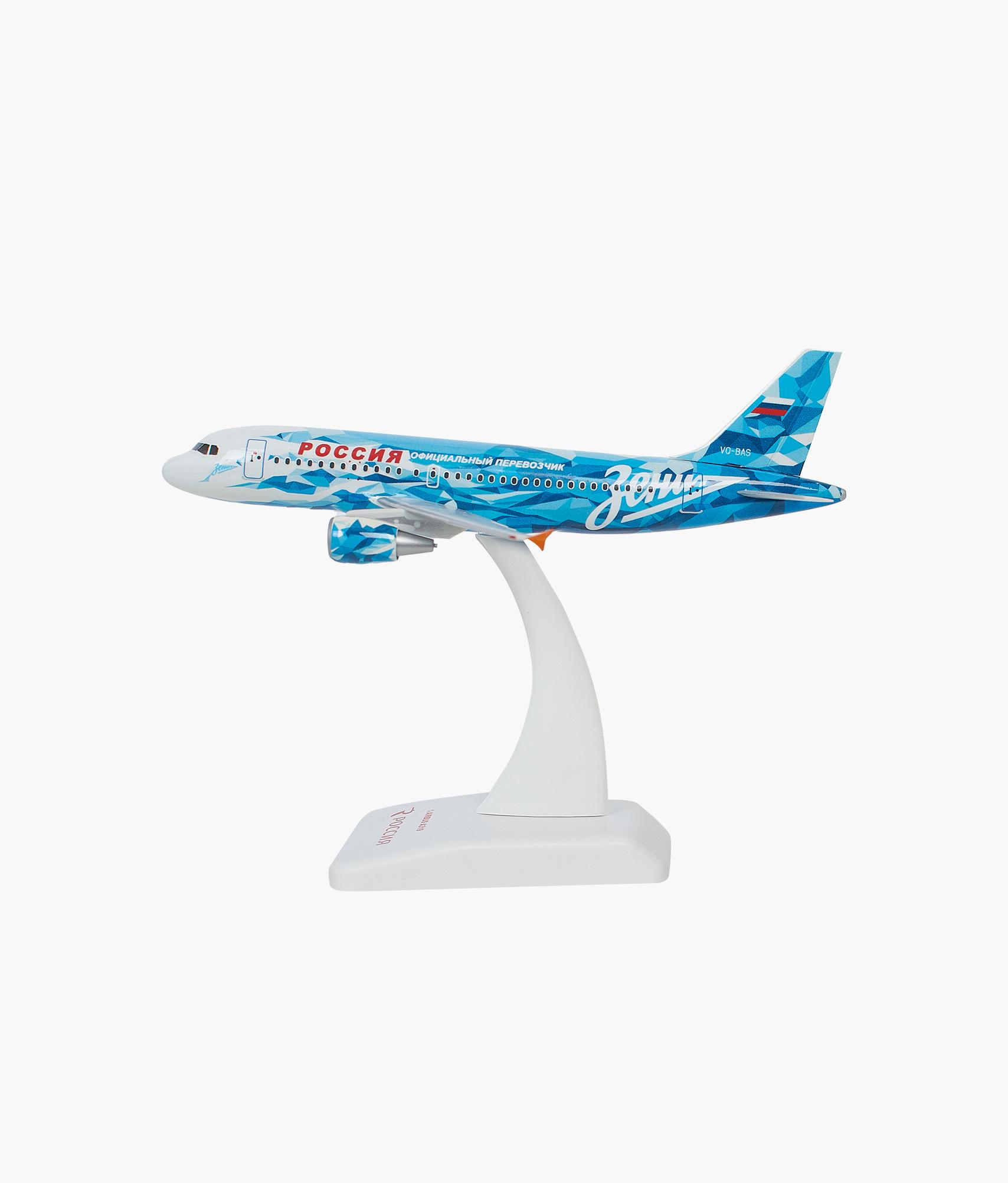 Модель самолета Airbus А319 масштаб 1:200