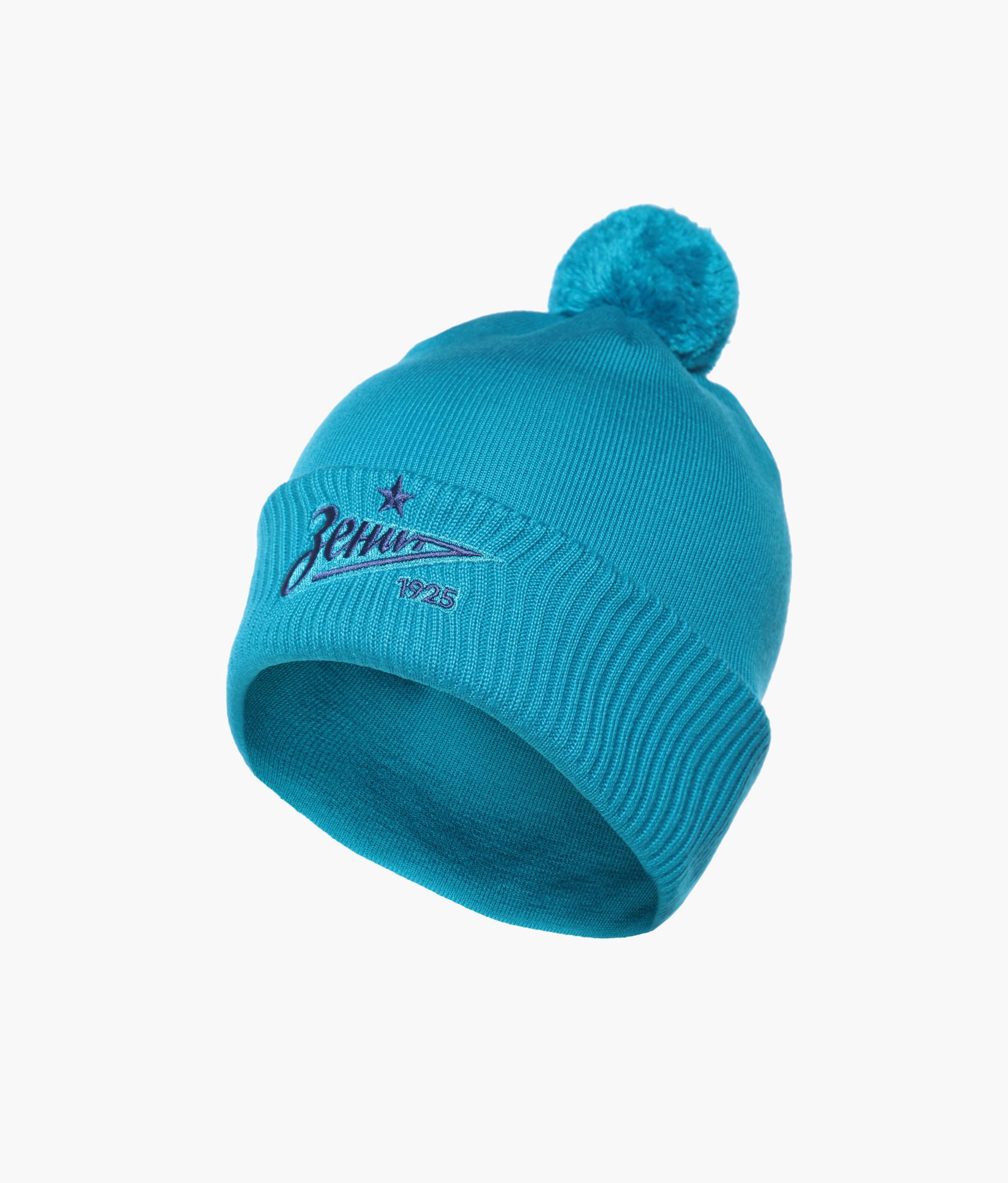Фото - Шапка Зенит Цвет-Лазурный шапка мужская зенит