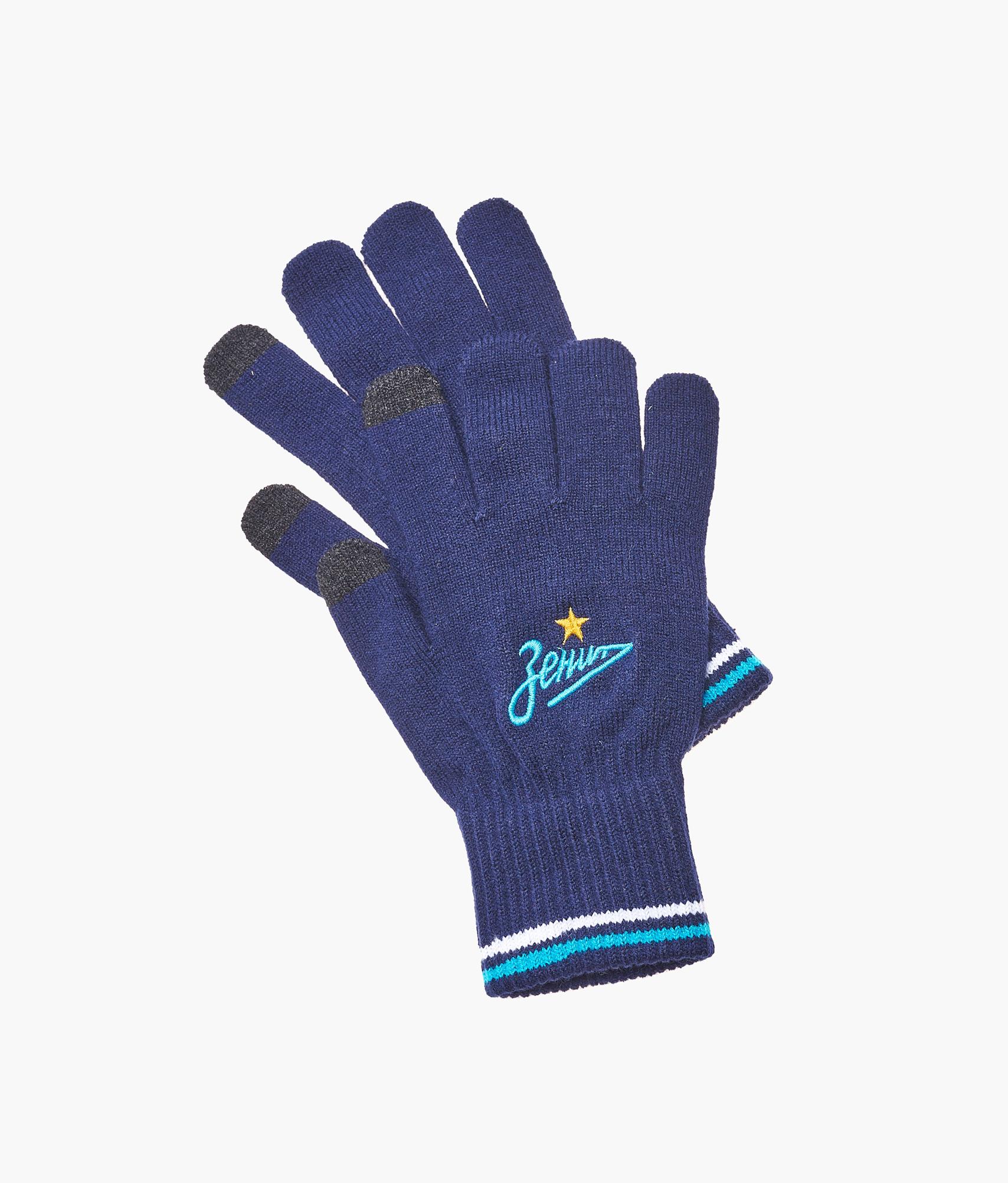 Фото - Перчатки подростковые сенсорные Зенит Зенит Цвет-Темно-синий защитные антистатические перчатки из углеродного волокна ermar erma