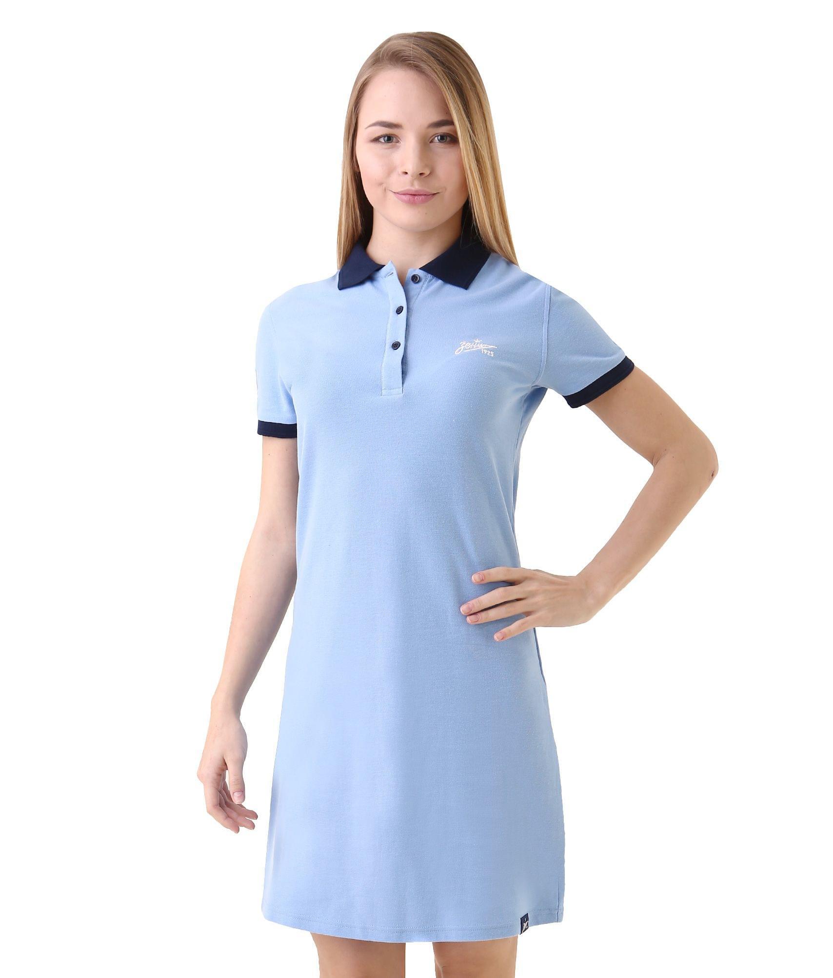 Платье женское, Цвет-Голубой, Размер-M wi fi роутер tp link wbs510 wbs510