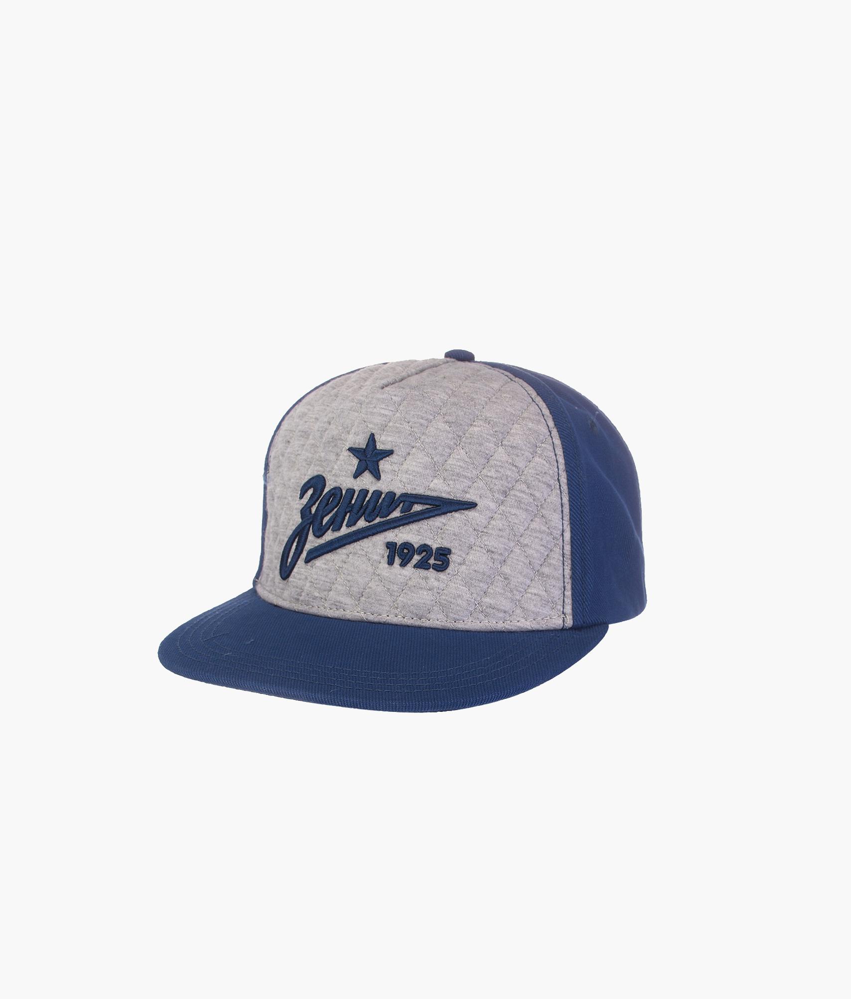 Бейсболка мужская Зенит Цвет-Синий-Серый бейсболка мужская quiksilver starkness цвет темно синий aqyha04308 bng0 размер универсальный