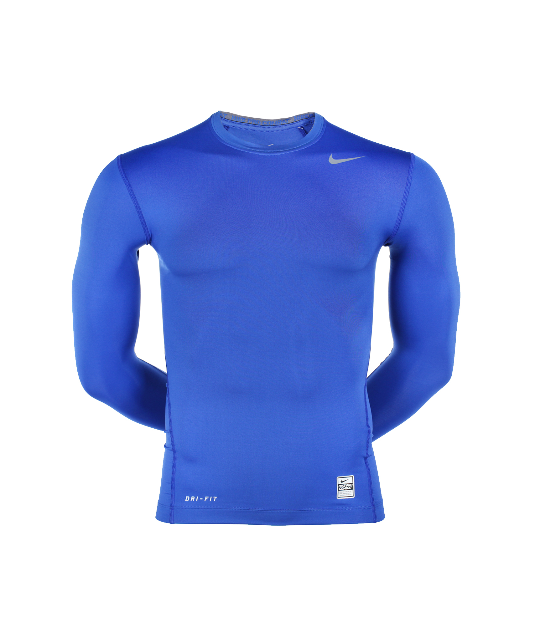 Футболка CORE COMPRESSION LS TOP, Цвет-Синий, Размер-XXL