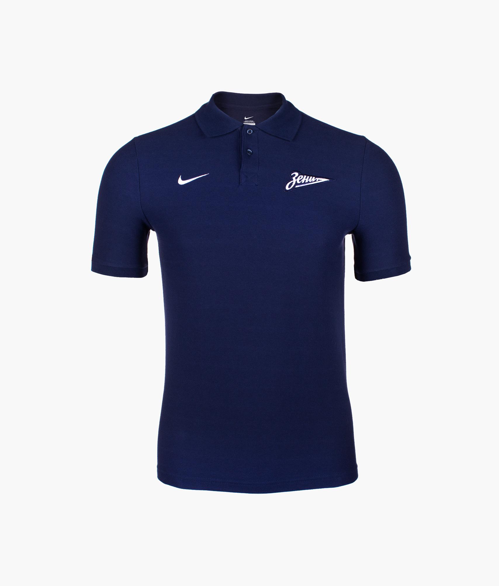 Поло подростковое Nike Nike Цвет-Темно-синий цена в Москве и Питере