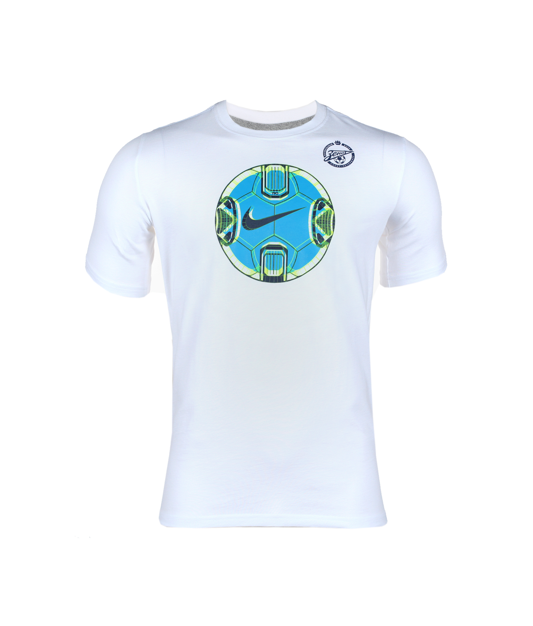 Футболка SS FOOTBALL TEE YTH , Цвет-Белый, Размер-XL