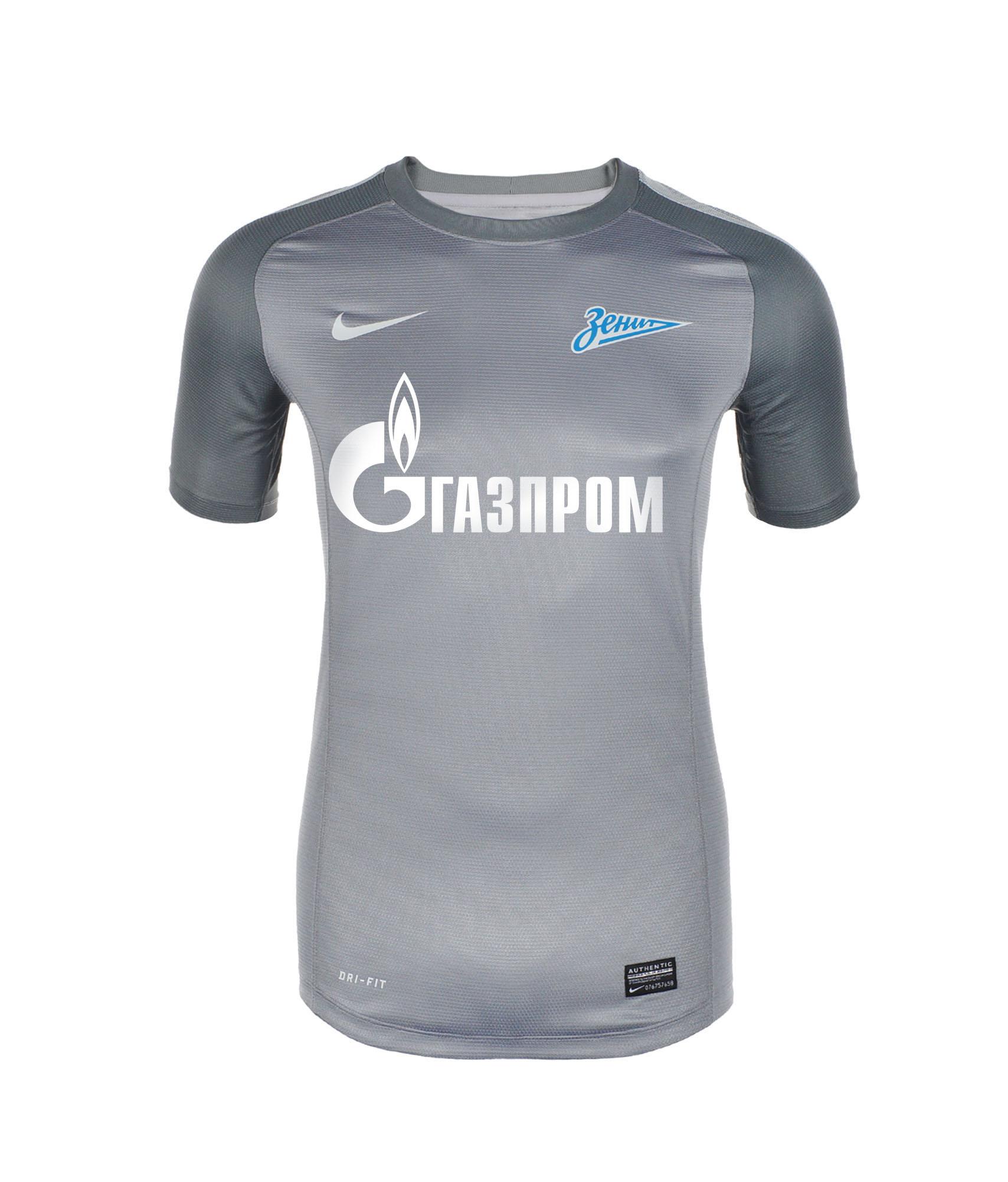 Футболка вратарская, Цвет-Серый, Размер-XL