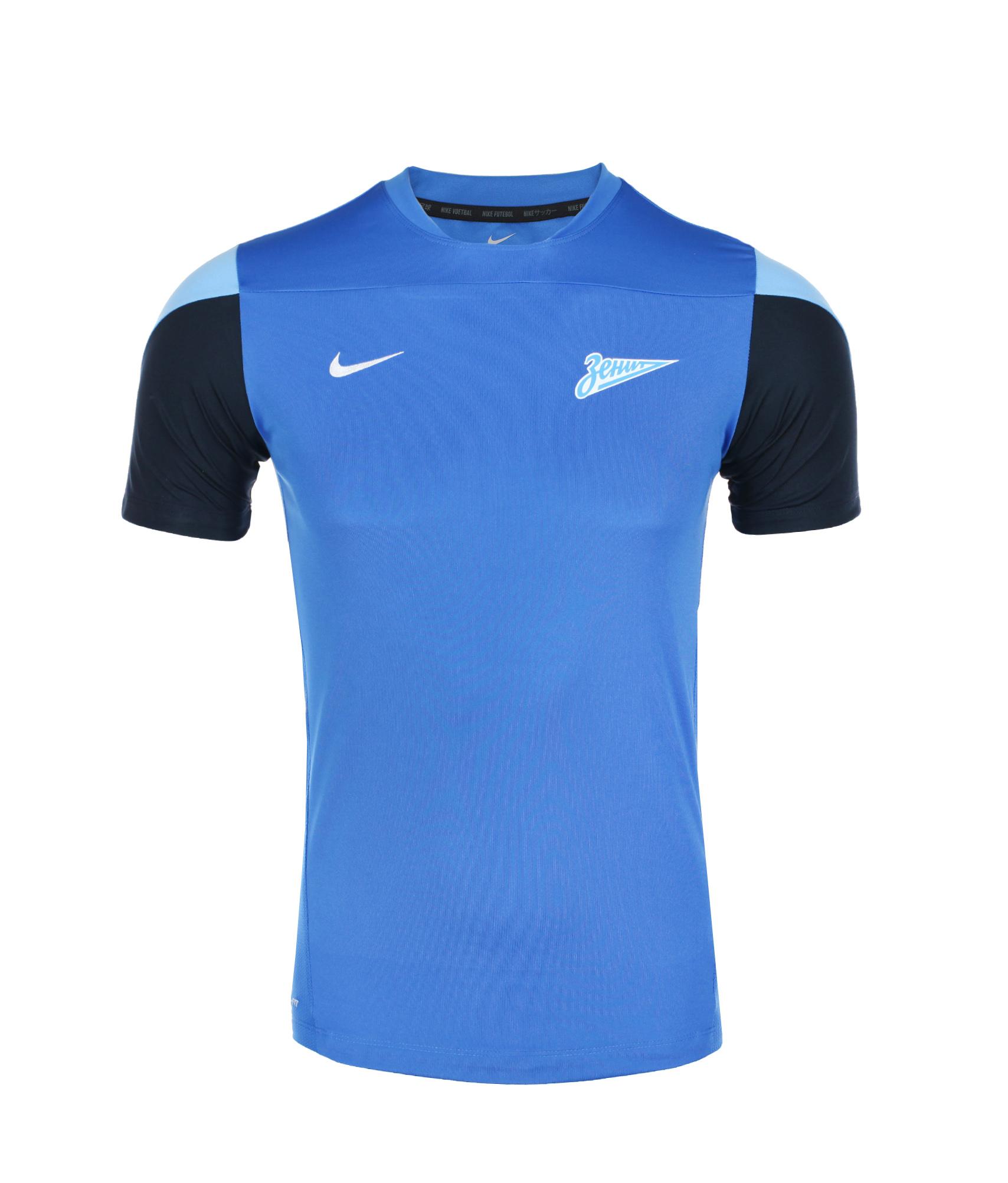 Футболка тренировочная подростковая, Цвет-Синий, Размер-XS