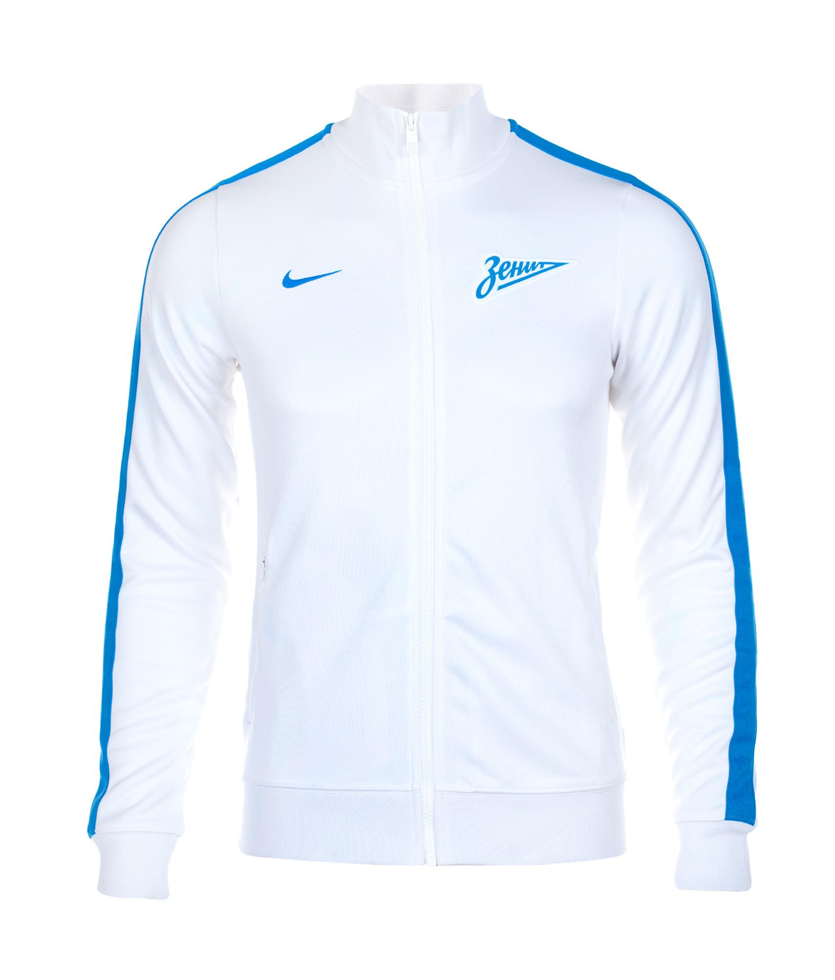 Белая олимпийка Nike, Цвет-Белый, Размер-S