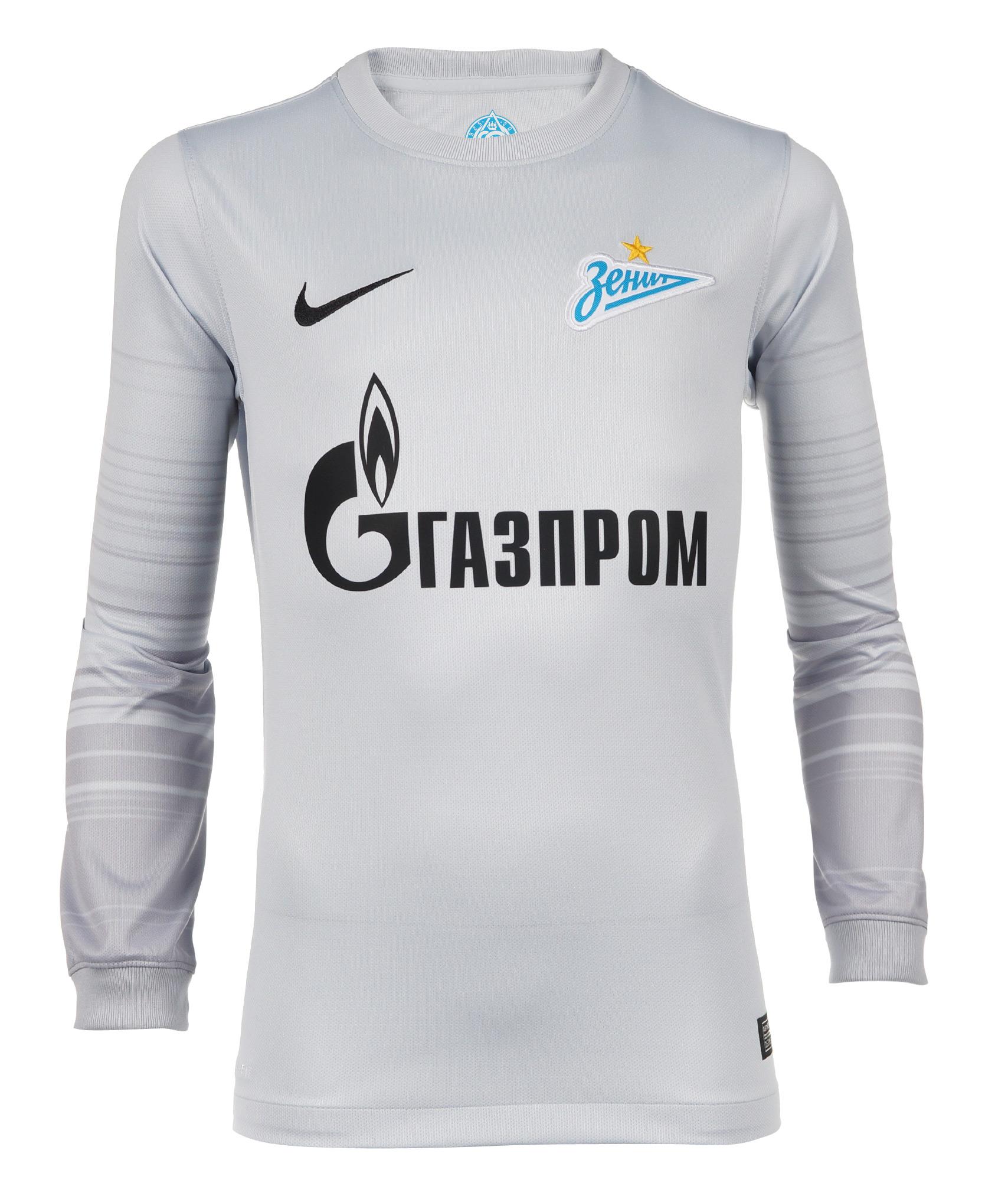 Вратарская подростковая футболка Nike Nike Цвет-Серый футболка вратарская подростковая сезона 2018 2019 nike цвет желтый