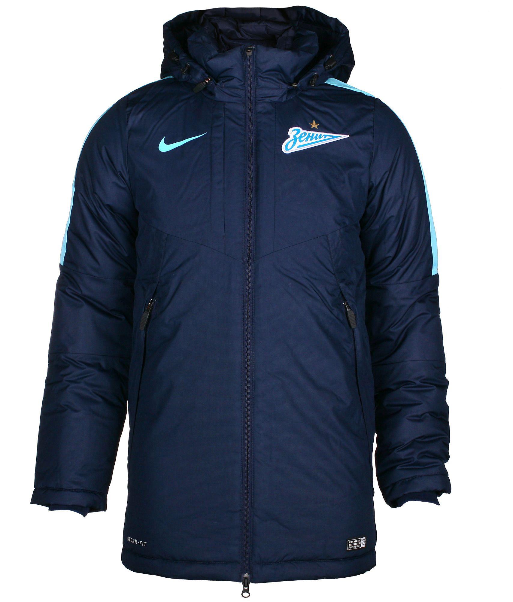 Куртка зимняя Nike , Цвет-Темно-Синий, Размер-XL