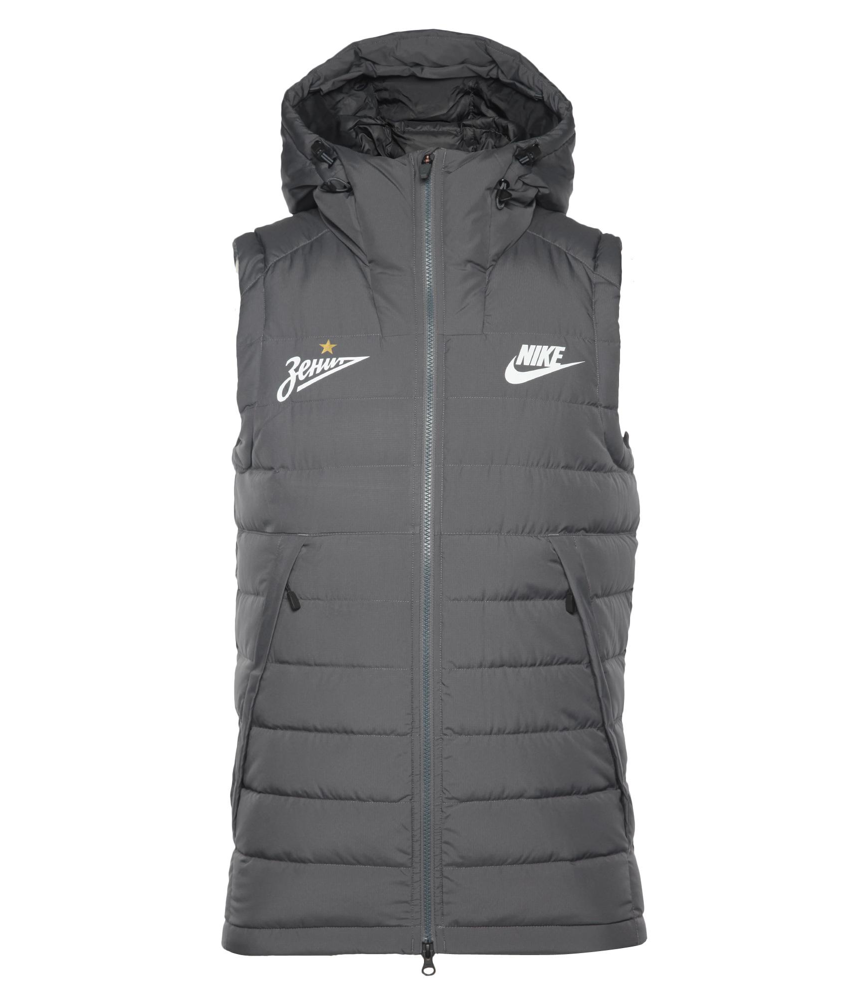 Жилет Nike, Цвет-Серый, Размер-S найк борзов найк борзов избранное ii