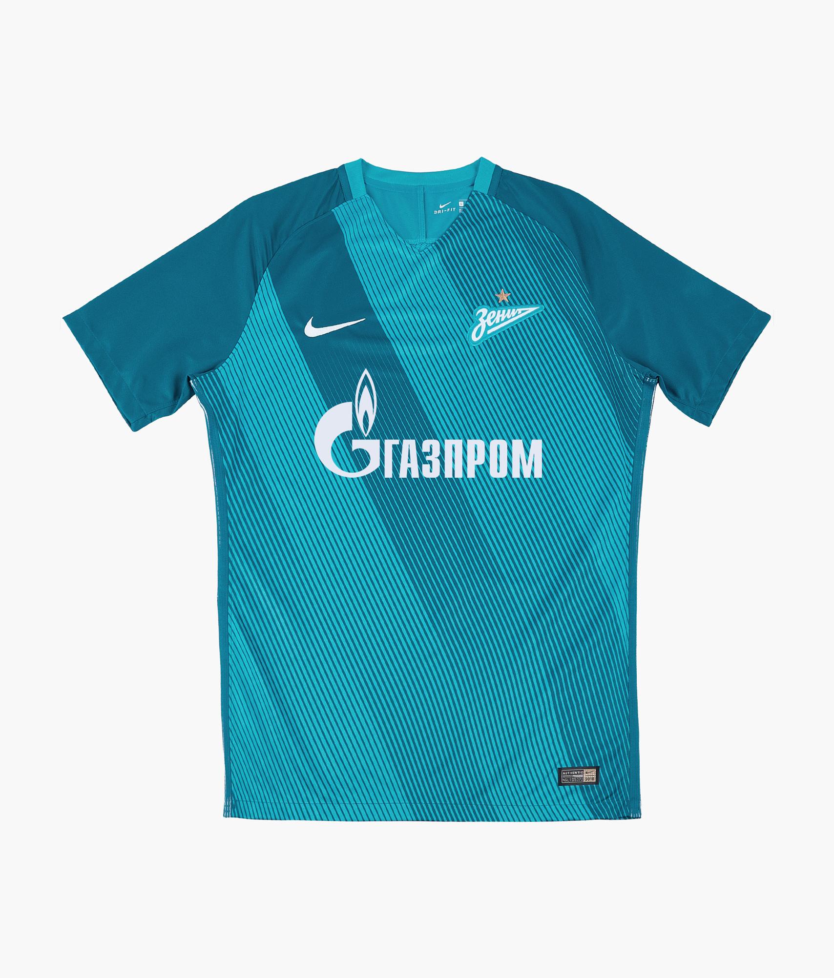 Домашняя оригинальная футболка Nike Nike Цвет-Синий оригинальная домашняя футболка nike дзюба 22 2018 19 nike