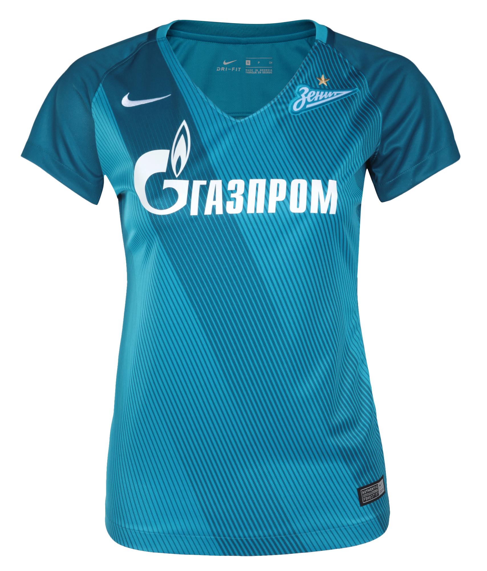 Женская игровая футболка, Цвет-Синий, Размер-S