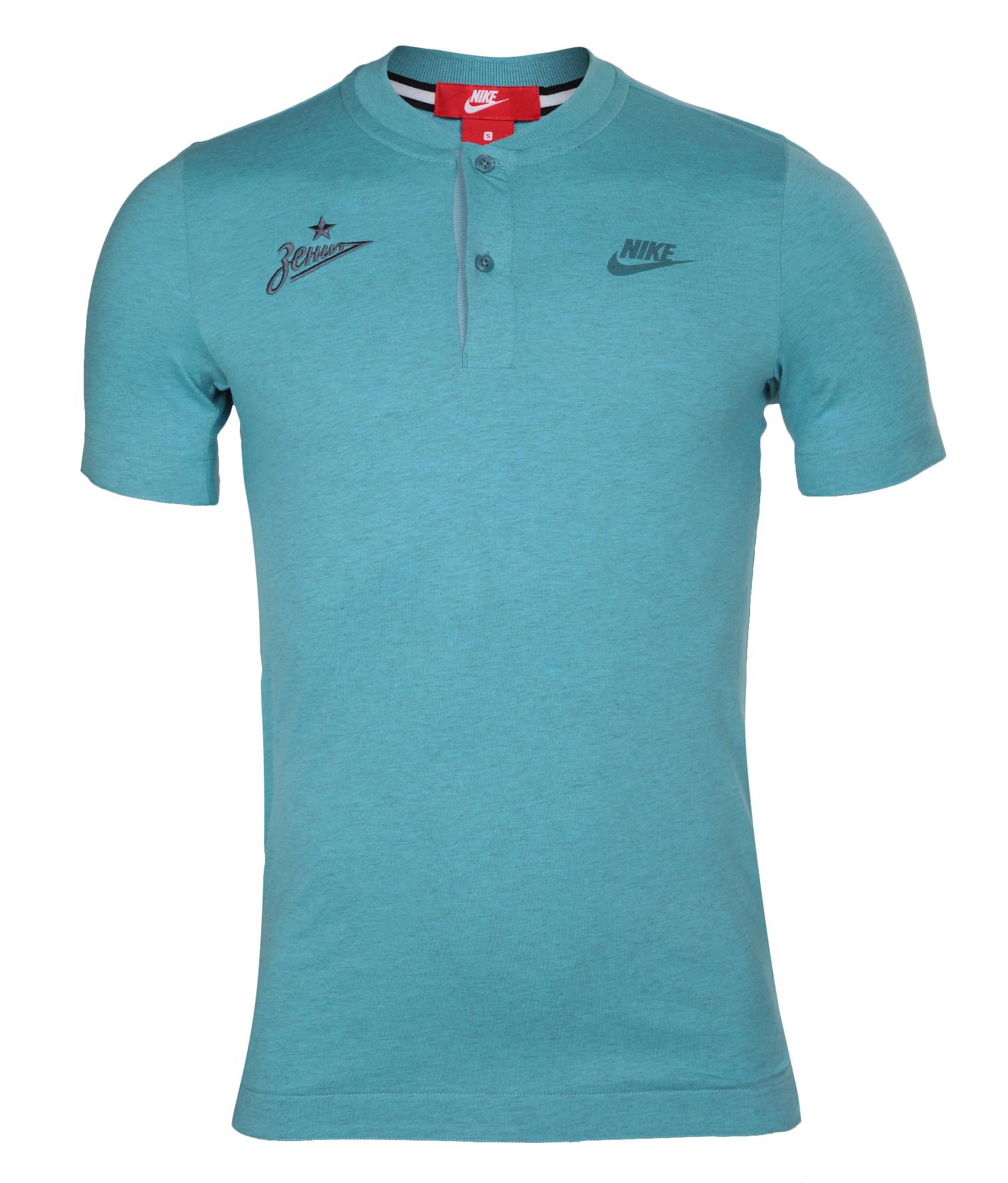 Поло Nike, Цвет-Голубой, Размер-XL поло nike цвет голубой размер m