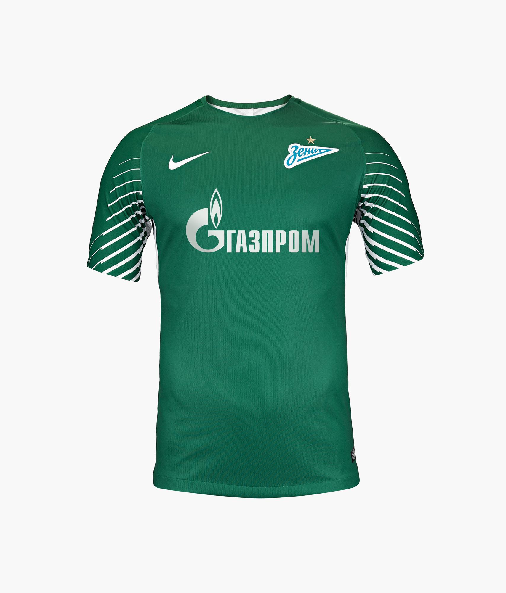 Футболка вратарская Nike сезона 2017/2018 Nike Цвет-Зеленый
