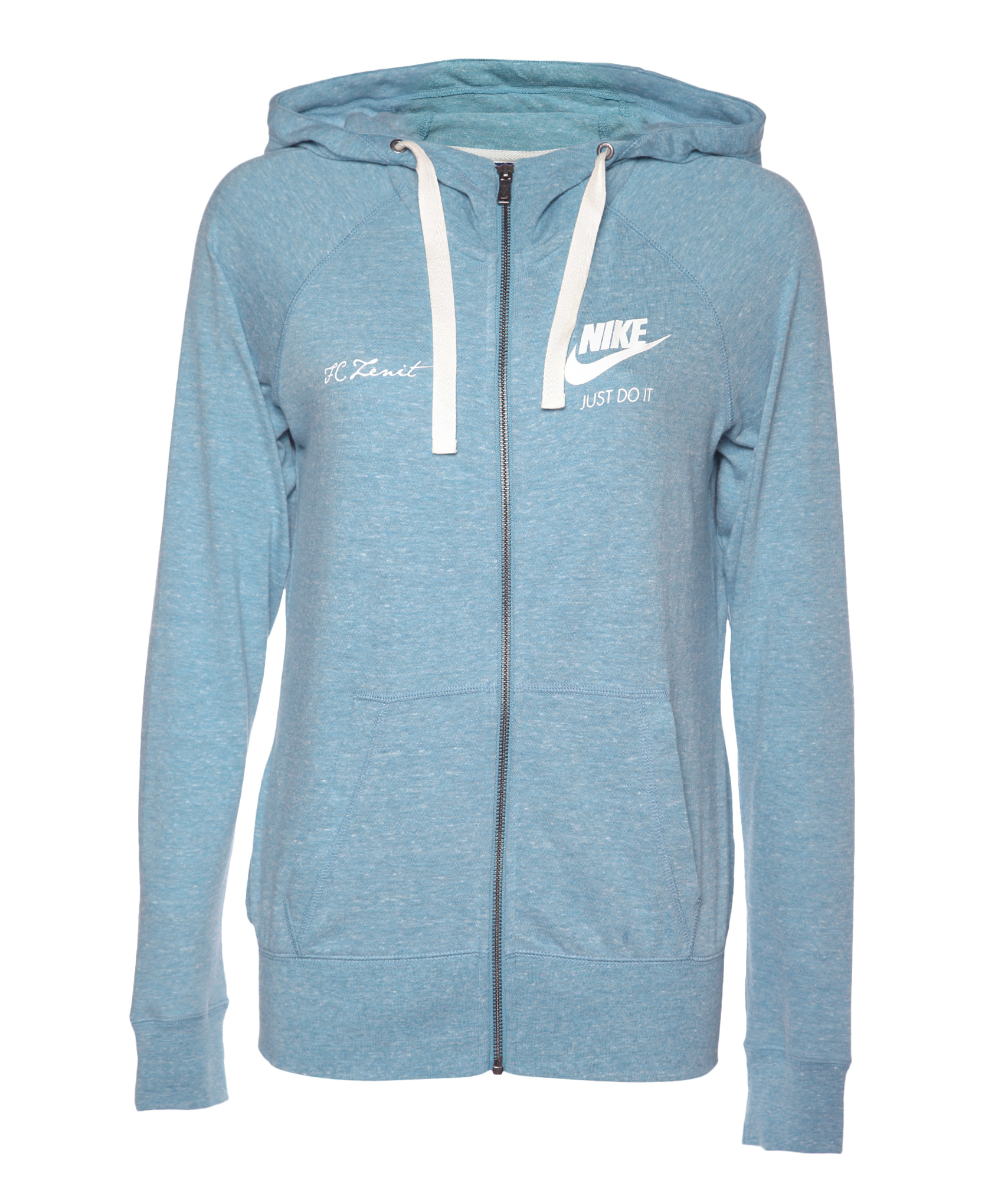 Толстовка женская Nike, Цвет-Голубой, Размер-S поло nike цвет голубой размер m