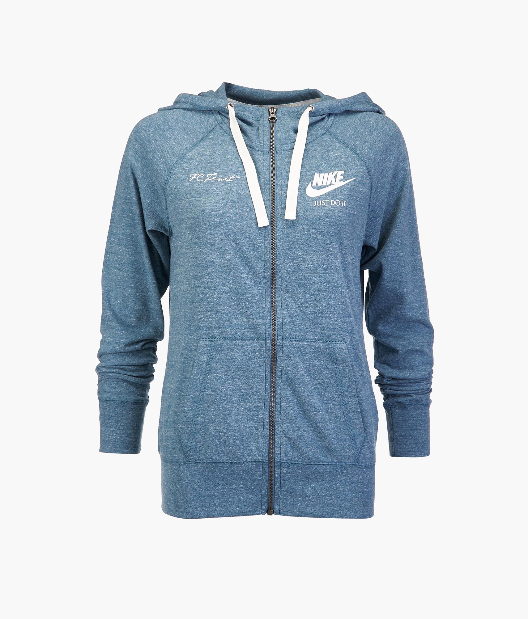 Толстовка женская Nike  Цвет-Синий