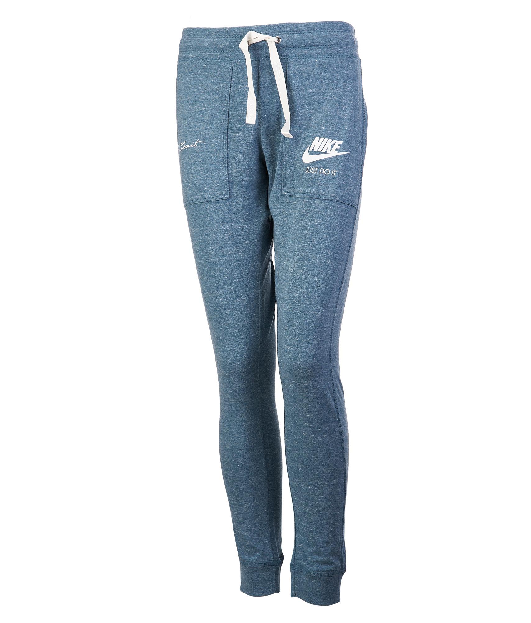 Брюки женские NIKE Nike Цвет-Синий nike перчатки для фитнеса женские nike accessories