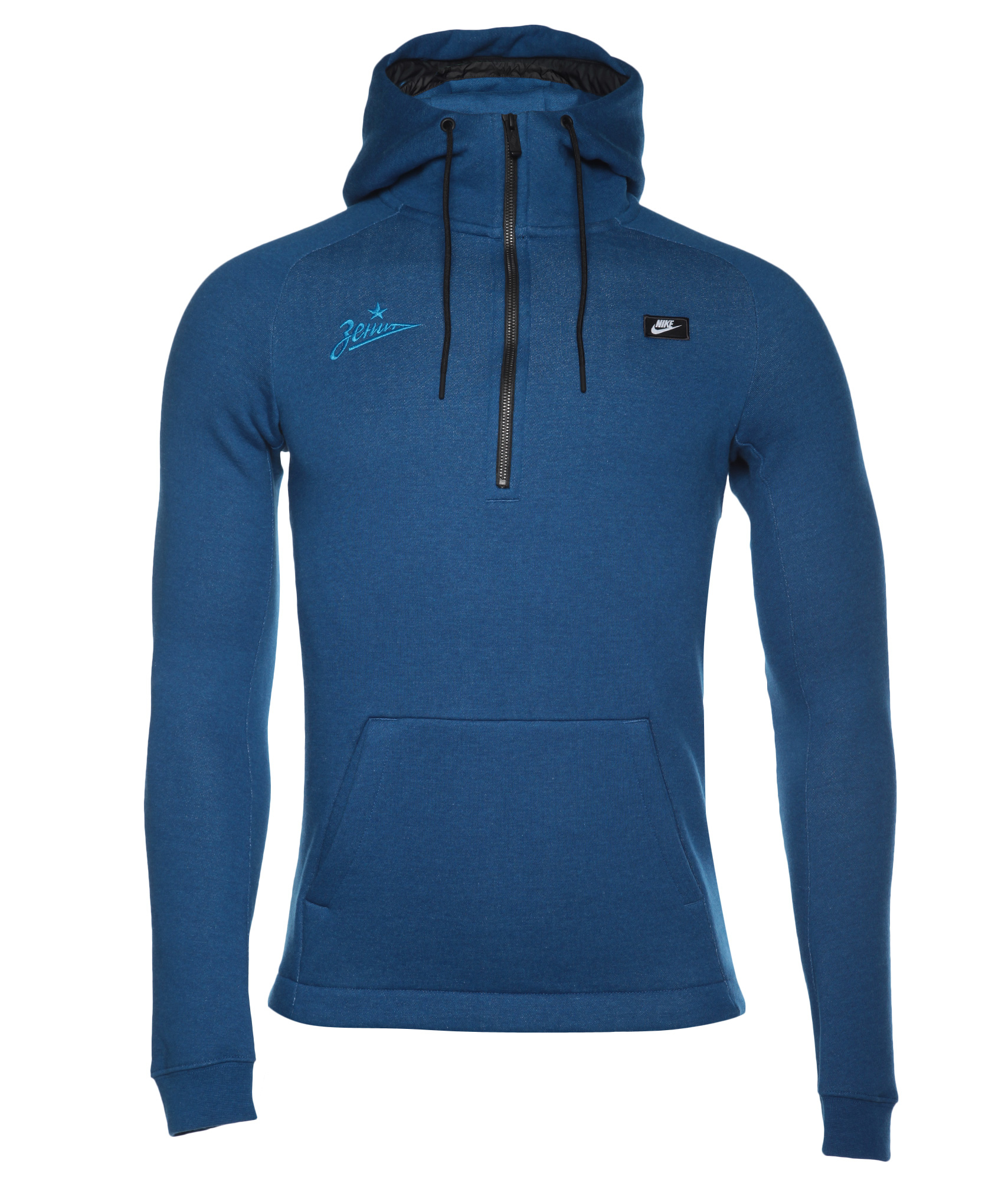 Толстовка Nike, Цвет-Синий, Размер-XXL