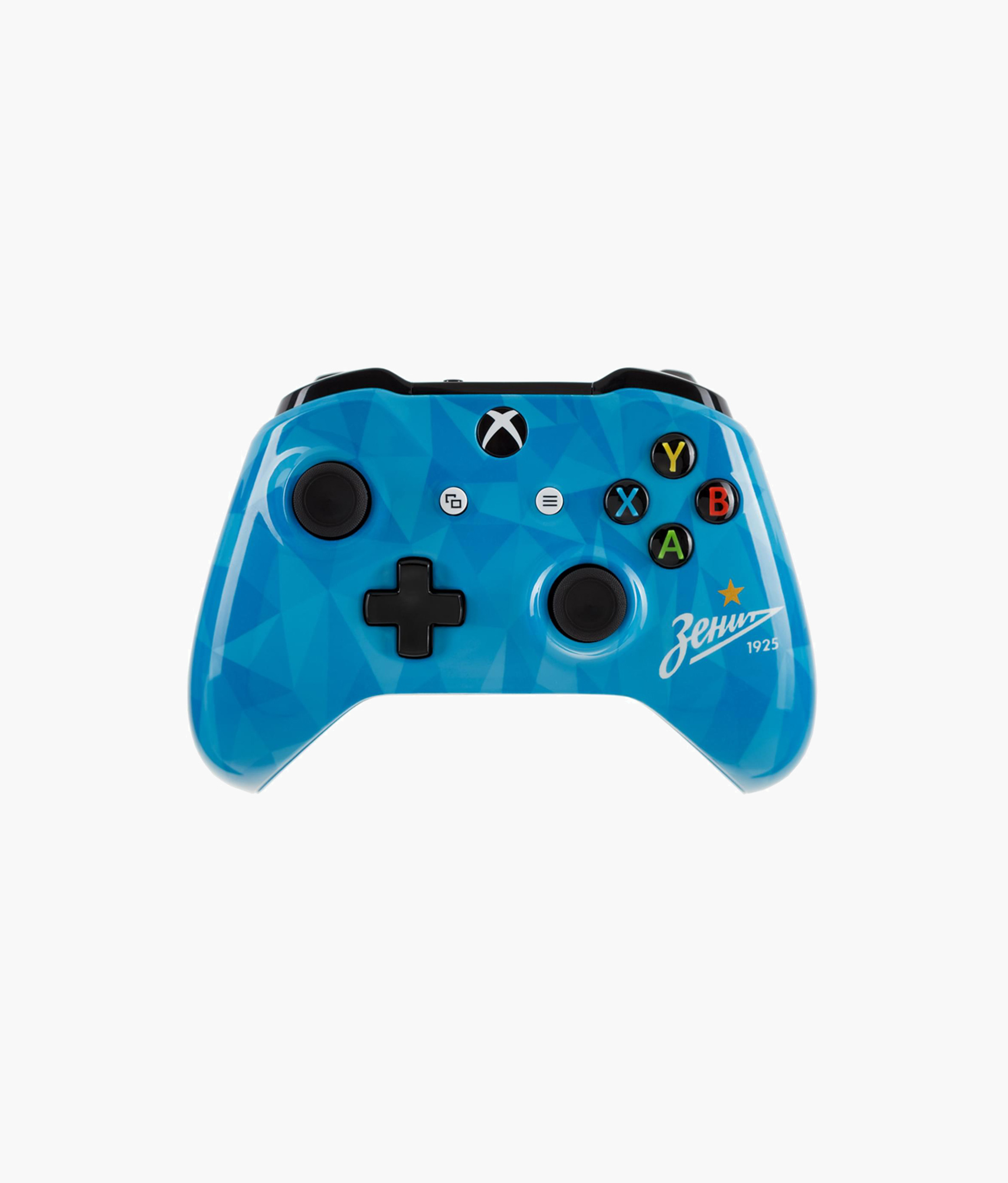 Геймпад беспроводной Xbox One «Зенит Северное Сияние» Зенит кастомизированный беспроводной геймпад для xbox one гладиатор