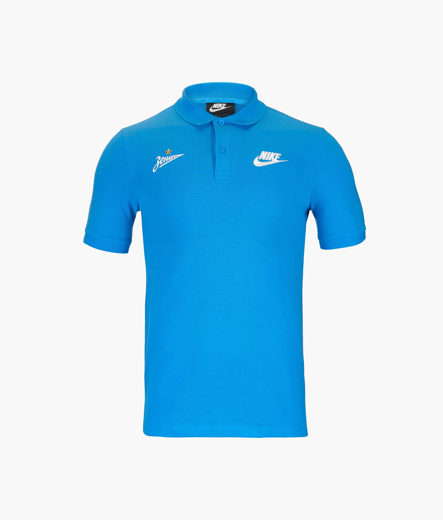 Поло Nike Nike Цвет-Синий цена 2017