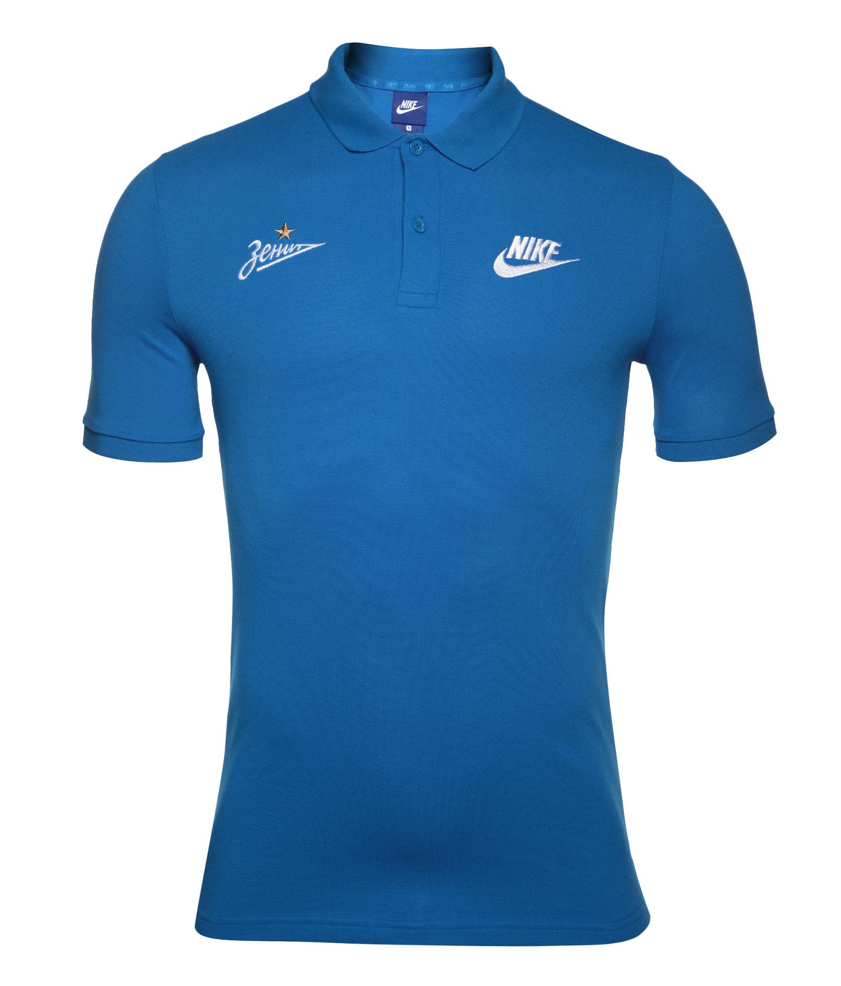 Поло Nike Nike Цвет-Синий