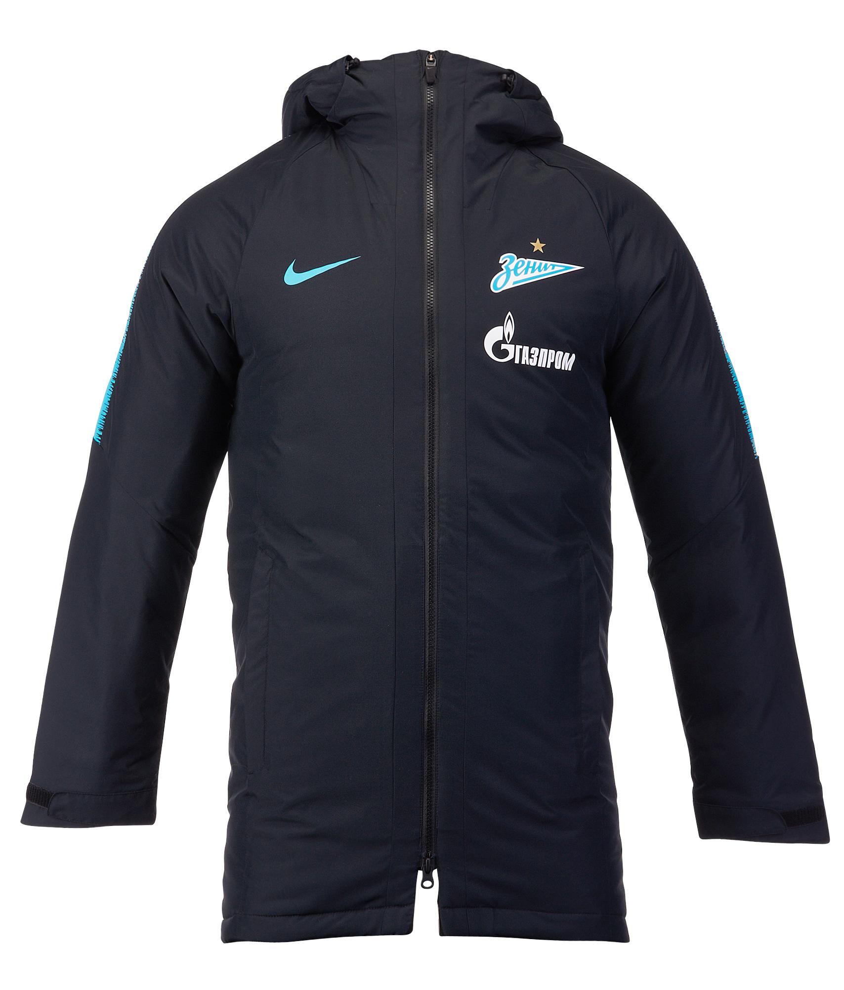 Куртка зимняя Nike 2018/19 Nike Цвет-Черный