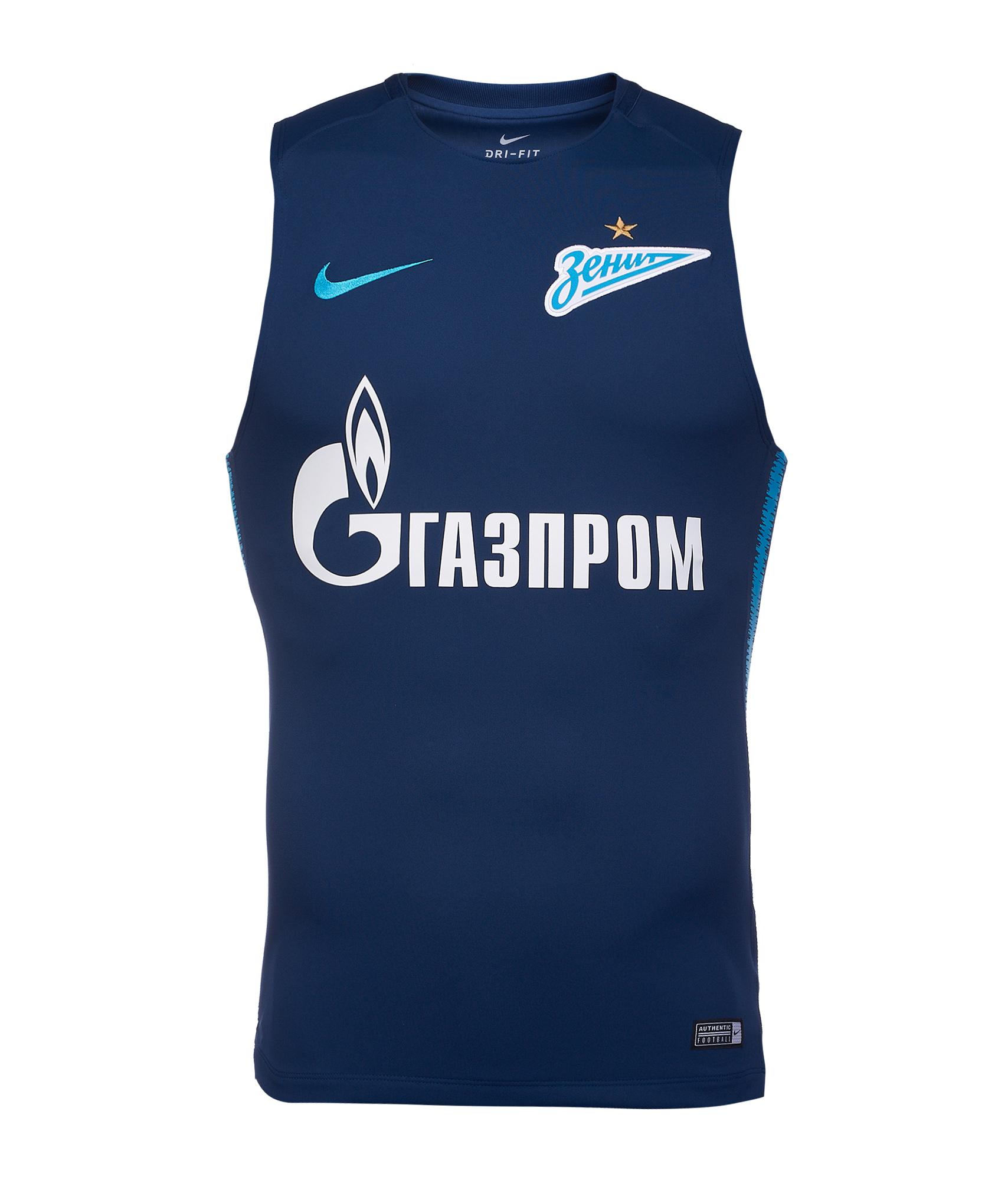 Майка тренировочная Nike Zenit 2018/19  Цвет-Синий