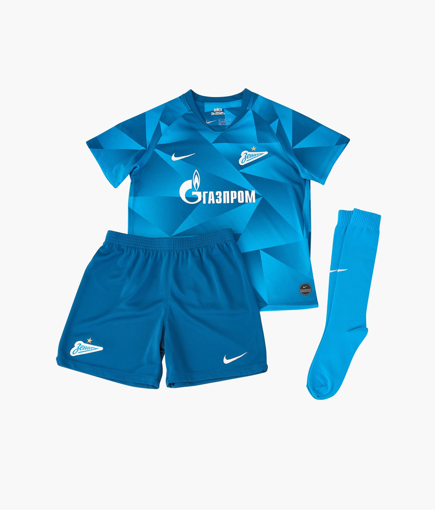 Комплект детской формы Nike Zenit сезона 2019/20 Nike