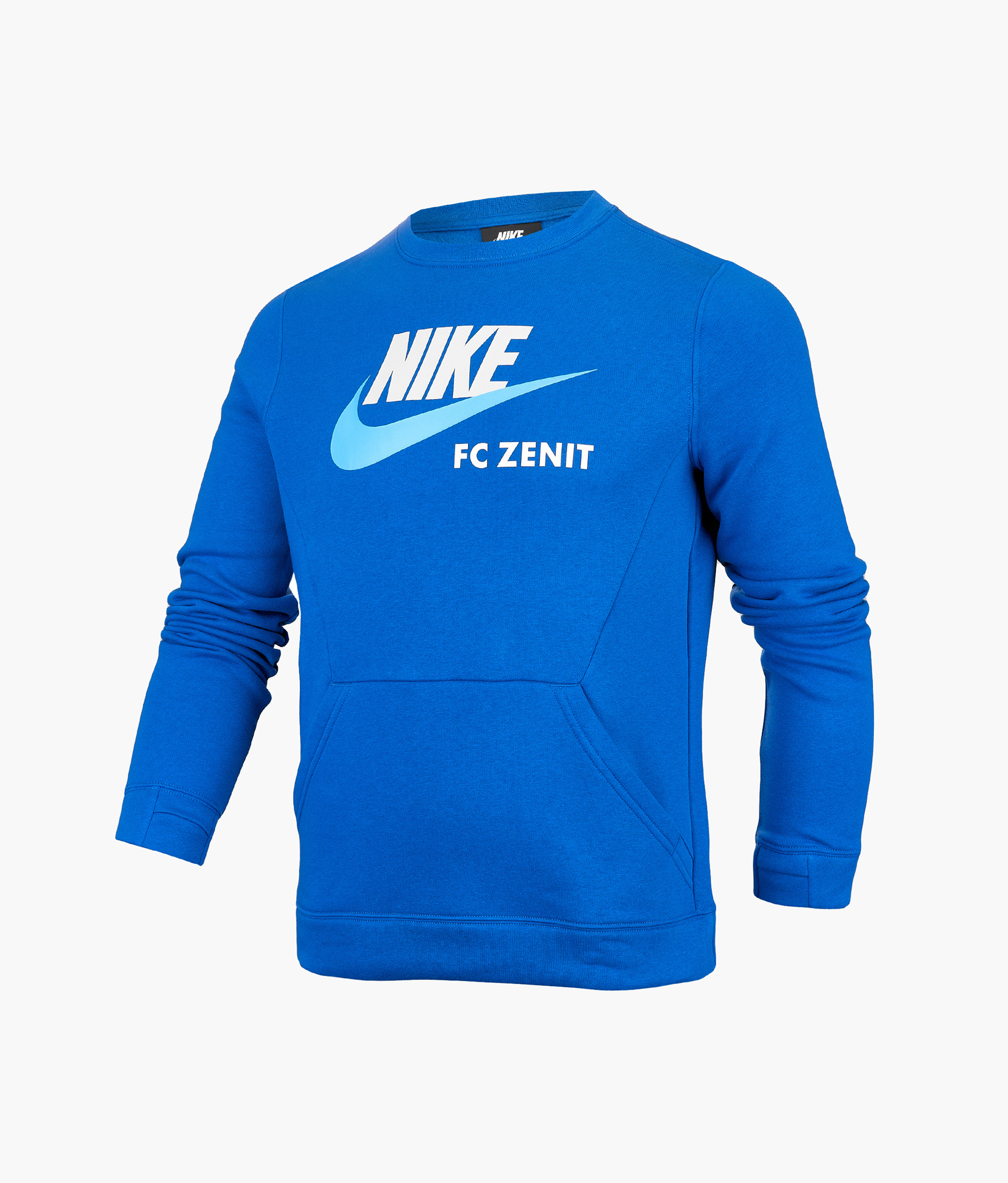 Свитшот подростковый Nike Nike Цвет-Синий