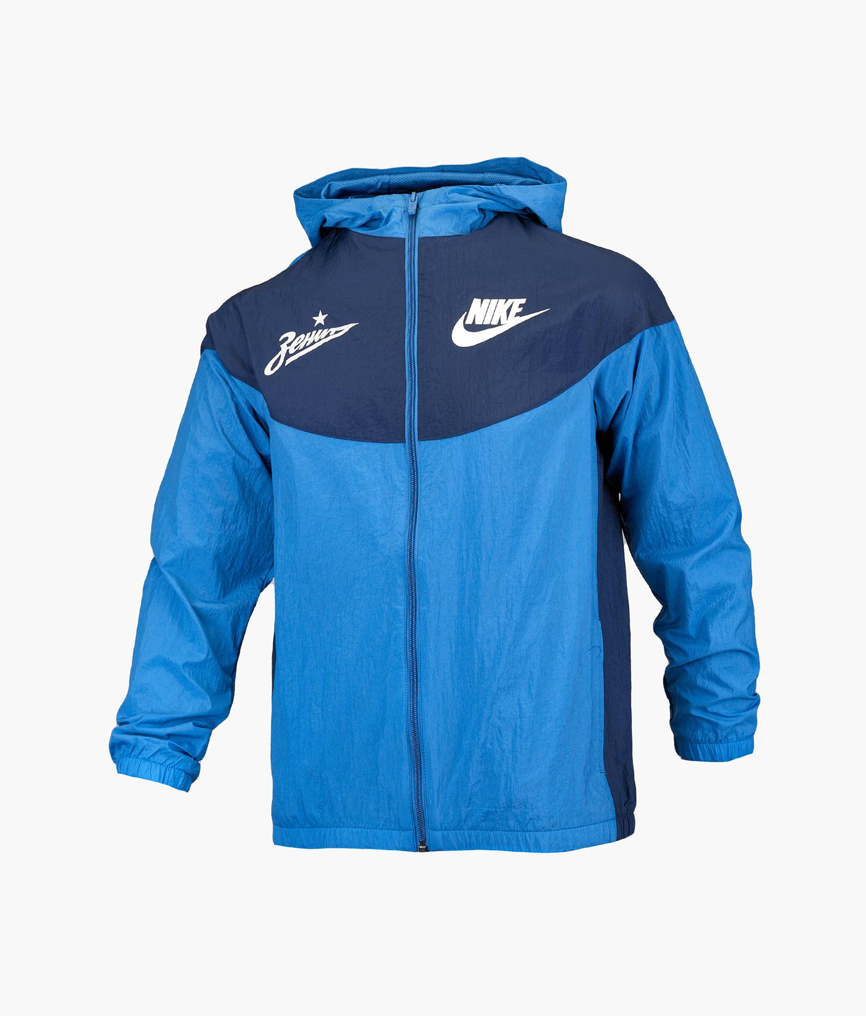 Ветровка подростковая Nike Nike Цвет-Синий