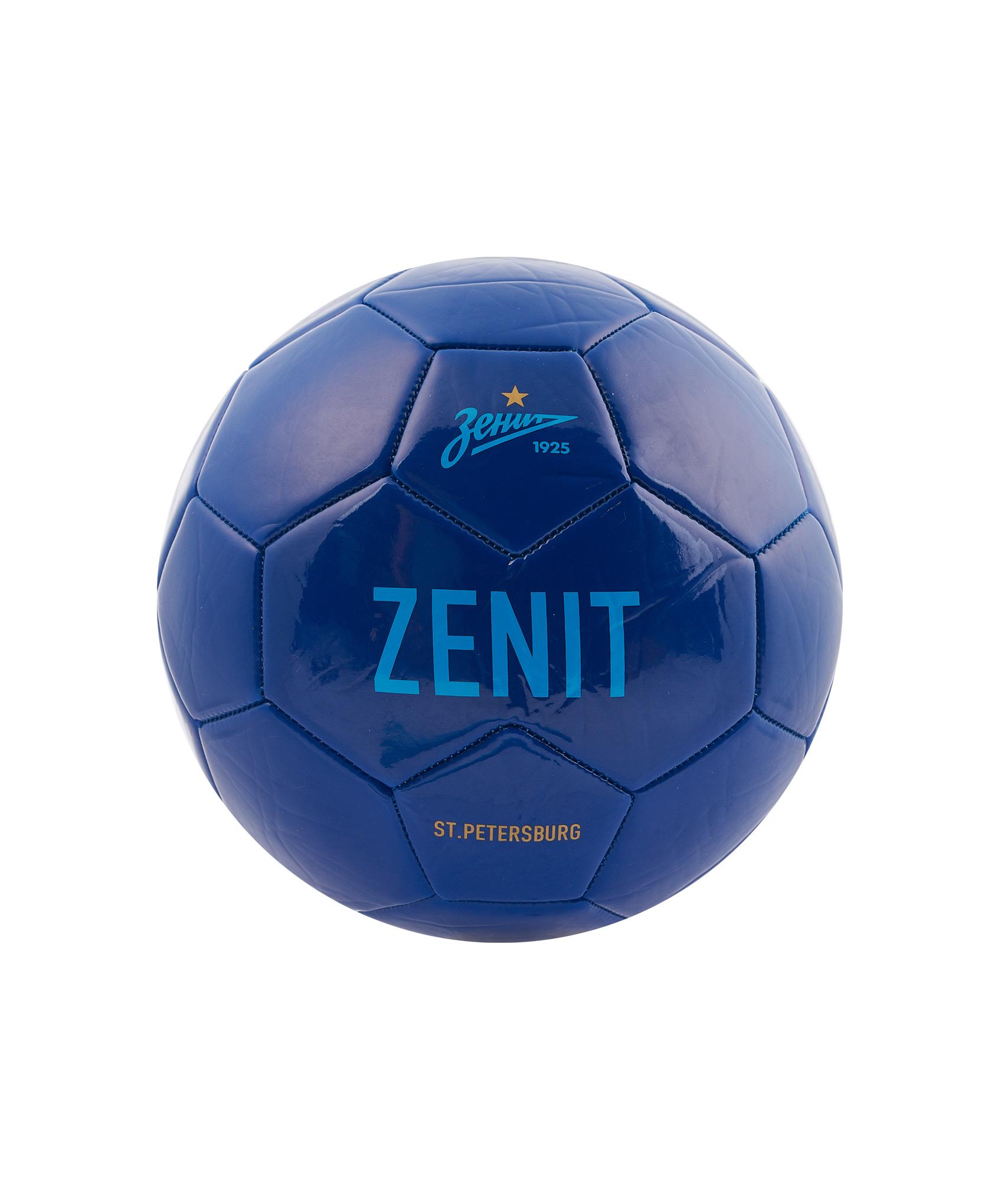 Мяч футбольный «Зенит» Зенит Цвет-Темно-Синий шорты детские зенит цвет синий