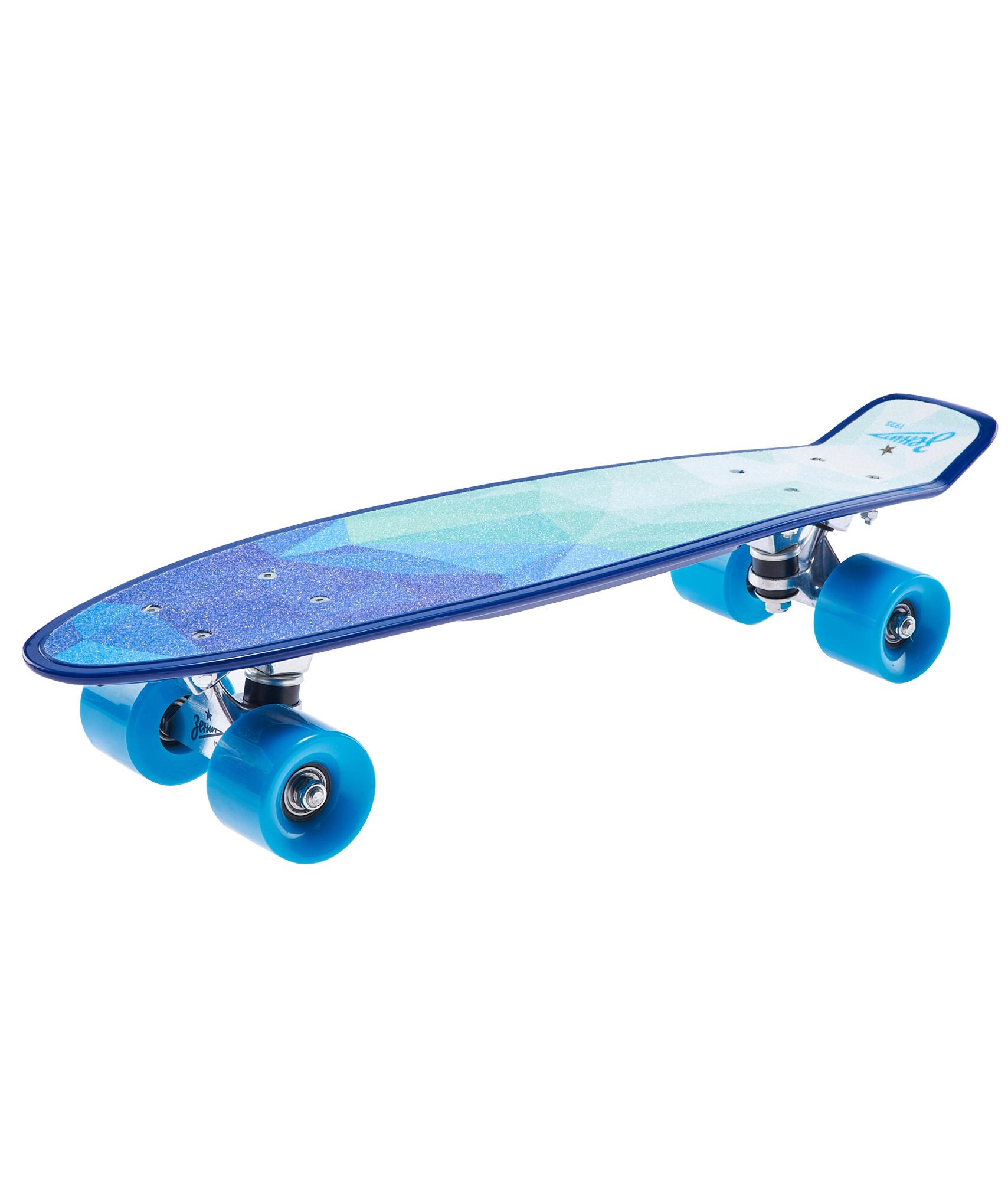 Скейтборд Зенит (22см* 6см) Зенит скейтборд с какого возраста можно начинать